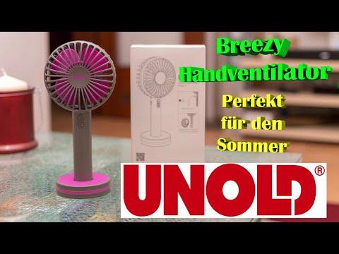 Unold | HANDVENTILATOR | Breezy |🌞 Perfekt für den Sommer 🌞 | Deutsch