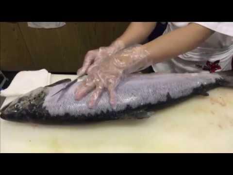 Cá hồi coho cắt khoanh