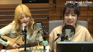 [BanilaVN][Vietsub+Kara] Lion heart (SNSD) - JUNIEL cover @Sunny FM Date