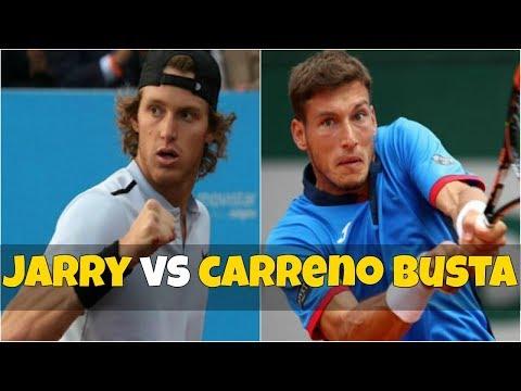 Nicolas Jarry vs Pablo Carreno Busta | QF Estoril 2018 Highlights