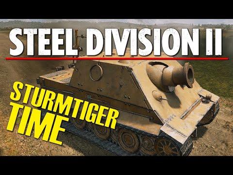 STURMTIGER TIME! Steel Division 2 Conquest Gameplay (Slutsk, 10v10)