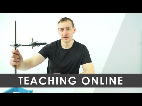Teaching Physics Online - 16 MAR 2020 - YouTube