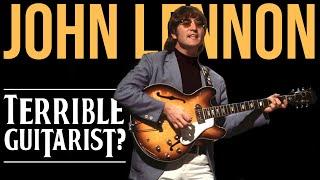 Was John Lennon A Good Guitarist?! | Friday Fretworks