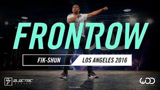 Fik-Shun | FRONTROW | World of Dance Los Angeles 2016 | #WODLA16