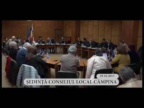 Sedinta ordinara a Consiliului Local Campina din luna octombrie 2015 – partea a IV-a