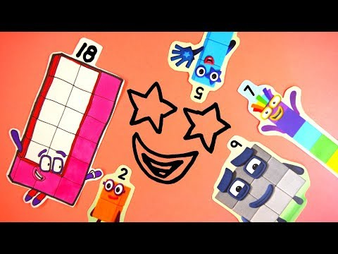 Guessing Game? – Secret Smile! Learn to Count! Meet the Numberblocks !