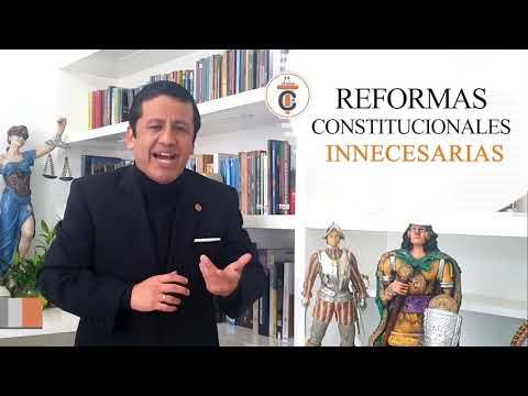 REFORMAS CONSTITUCIONALES INNECESARIAS - TC167