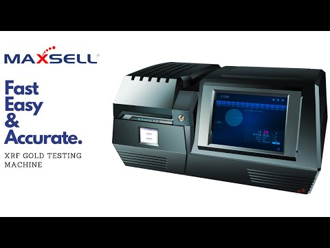 Maxsell Karatometer Testing Machine for Gold Jewel Loan