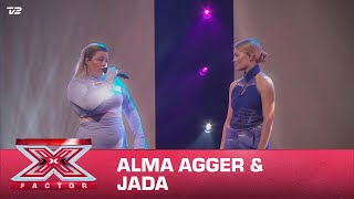 Alma Agger & Jada synger 'Lonely / Nudes' (Live) | X Factor 2020 | TV 2