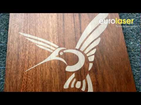 Inlays made of parquet | Laser cutting