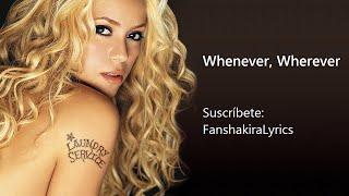 03 Shakira - Whenever, Wherever   S
