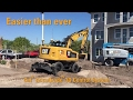 My Cat M318F Wheeled Excavator with the AccuGrade� 3D Control System Testimonial