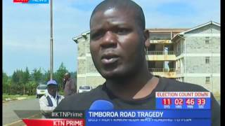Eight people die in a Timboroa accident along the Nakuru - Eldoret Highway