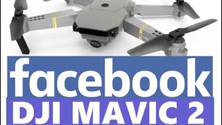 Facebook Drone DJI MAVIC Eachine E58 WIFI FPV With 720P GREAT Starter Low Cost Budget Quadcopter