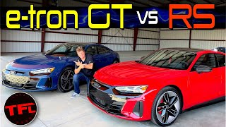 One of These 2022 Audi E-Tron Cars Will Do 0-60 MPH in About 3 Seconds - I Go Hands-on to Find Out!