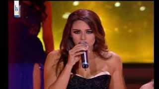Elsa Hajjar Miss Lebanon 2014 Finals