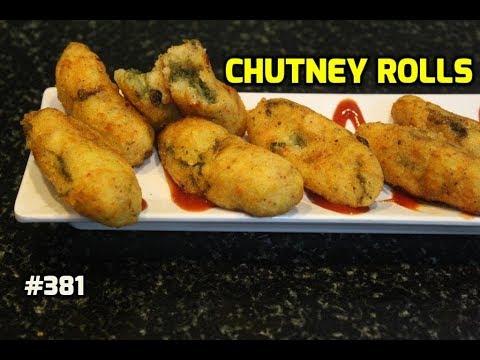 Chutney Rolls || Chutney Bombs || Evening Tea Snacks & Party Starters Appetizer Recipes ||
