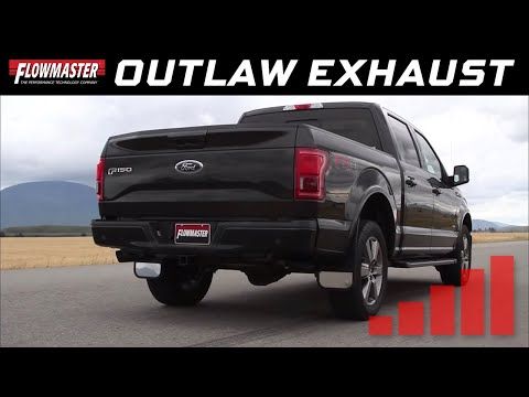 2015-20 Ford F150 3.5L Ecoboost - Outlaw Cat-back Exhaust System 817726