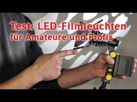 Test: Top-LED-Leuchten für gutes Filmlicht