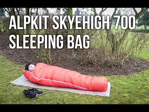 Alpkit Skyehigh 700 down sleeping bag review