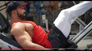 Sergi Constance Vlog 7 - Legs Day At Metroflex Long Beach Gym