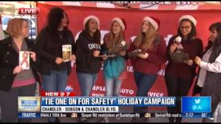MADD Tie One on For Safety - 3TV Phoenix (Segment 2)