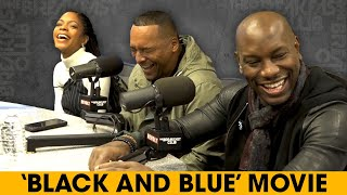 Tyrese, Naomie Harris And Deon Taylor Unpack Police Corruption In Their New Film 'Black And Blue'
