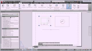 Autocad  для начинающих. Базовый курс.Часть 7. Компоновка геометрии на листе. Печать
