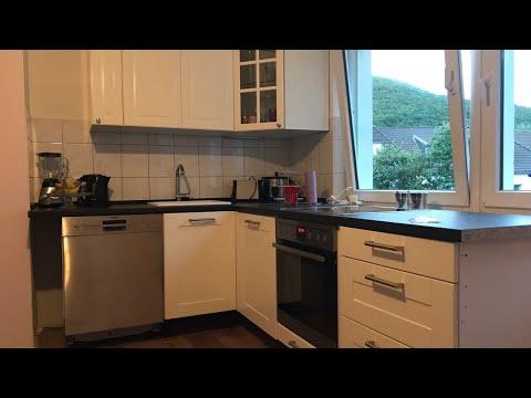 Küche aufbauen von Anfang bis Ende Küchenmontage mit Elektro u. Wasser Anschluss komplett Anleitung