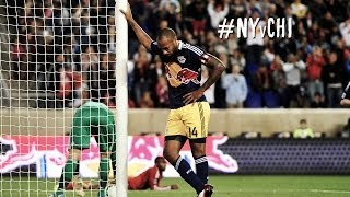 Thierry Henrys Traumtor gegen Chicago Fire