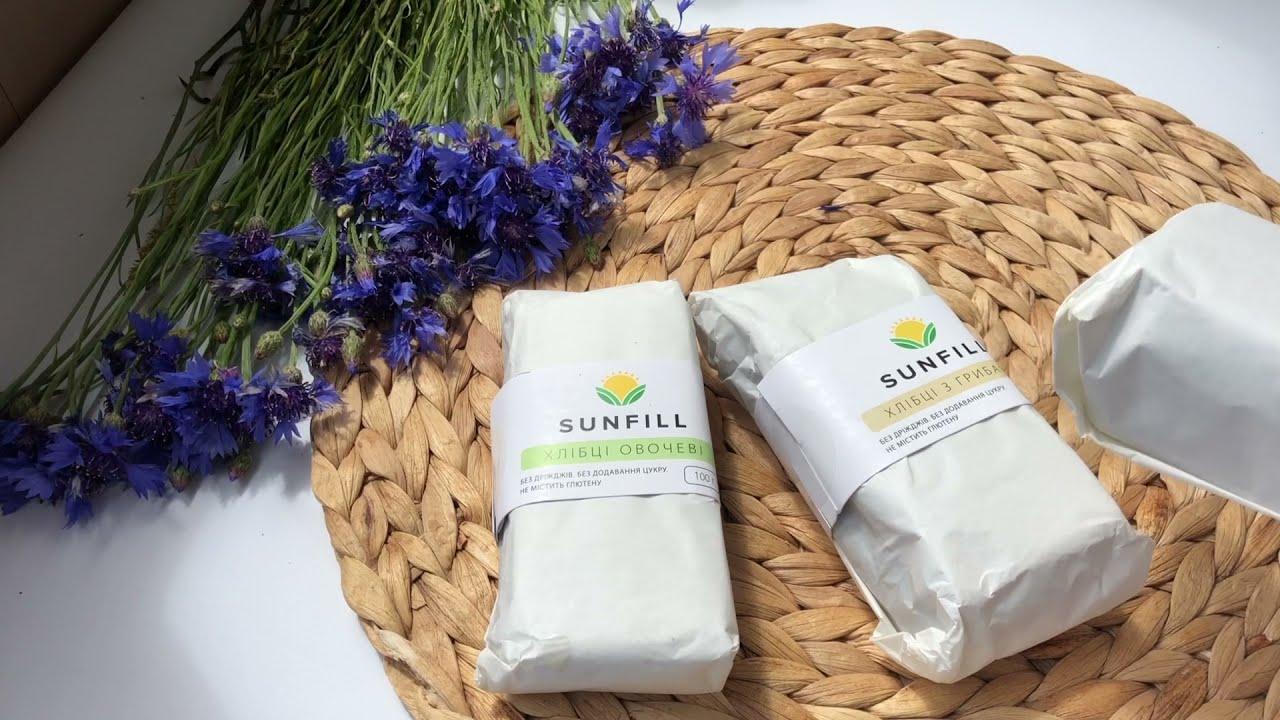 Хлебцы Sunfill с овощами 100г: видео 1 - FreshMart