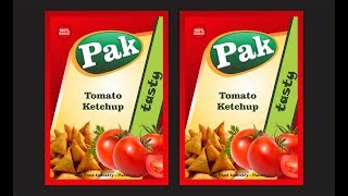 Learn About Food Packaging Design | Tomato Ketchup | Chili Souce