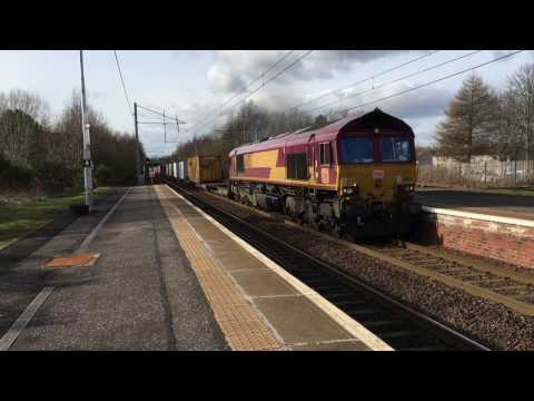 Scottish Rail Freight 9th March 2017