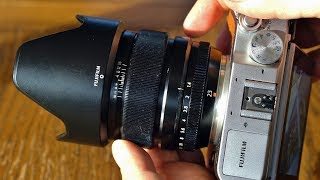Fuji XF 23mm f/1.4 lens review with samples