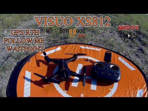 NUOVO VISUO XS 812 GPS FOLLOW ME RTH E ALTRO