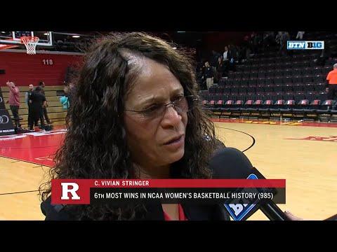C. Vivian Stringer Talks Win Over Virginia