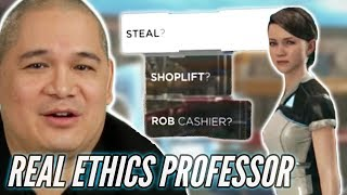 Ethics Professor Is Put Into Moral Dilemmas In Detroit Become Human •Professionals Play
