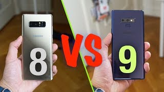 Galaxy Note 8 VS Galaxy Note 9