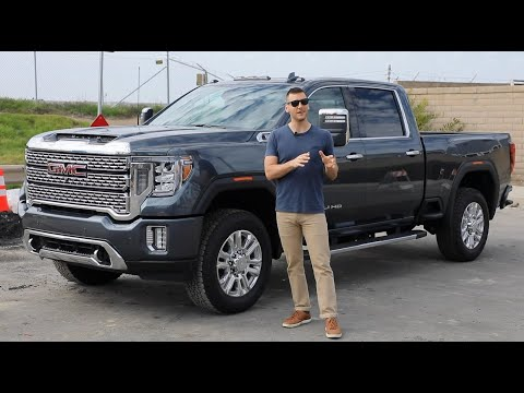 2020 GMC Sierra 2500HD Test Drive and Review