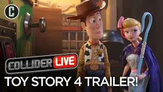 Toy Story 4 Trailer Review: Fresh Spin or Old Hat? - Collider Live #95