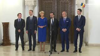 Orban, după consultările de la Cotroceni: Afirmaţiile că tăiem pensii şi salarii - minciuni gogonate ale propagandei PSD
