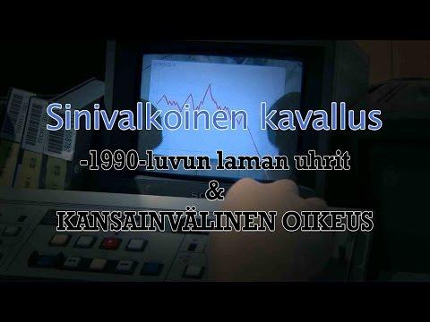 Sinivalkoinen kavallus - lyhytdokumentti 90-luvun laman uhreista