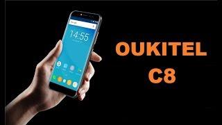 Oukitel C8 очередная бюджетная копия Samsung .
