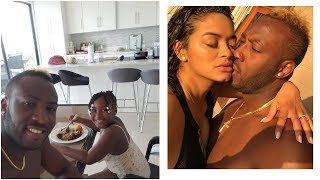 Andre Russell Wife Cooking Food For Him On His Birthday