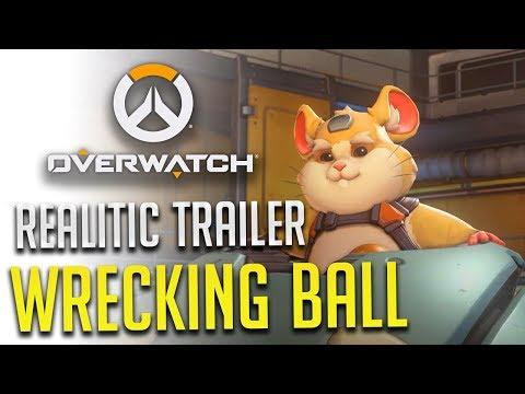 《鬥陣特攻Overwatch》火爆鋼球-Wrecking Ball 我認識的火爆肛球才沒那麼厲害