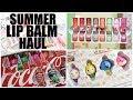 Summer Lip Balm Haul 2017