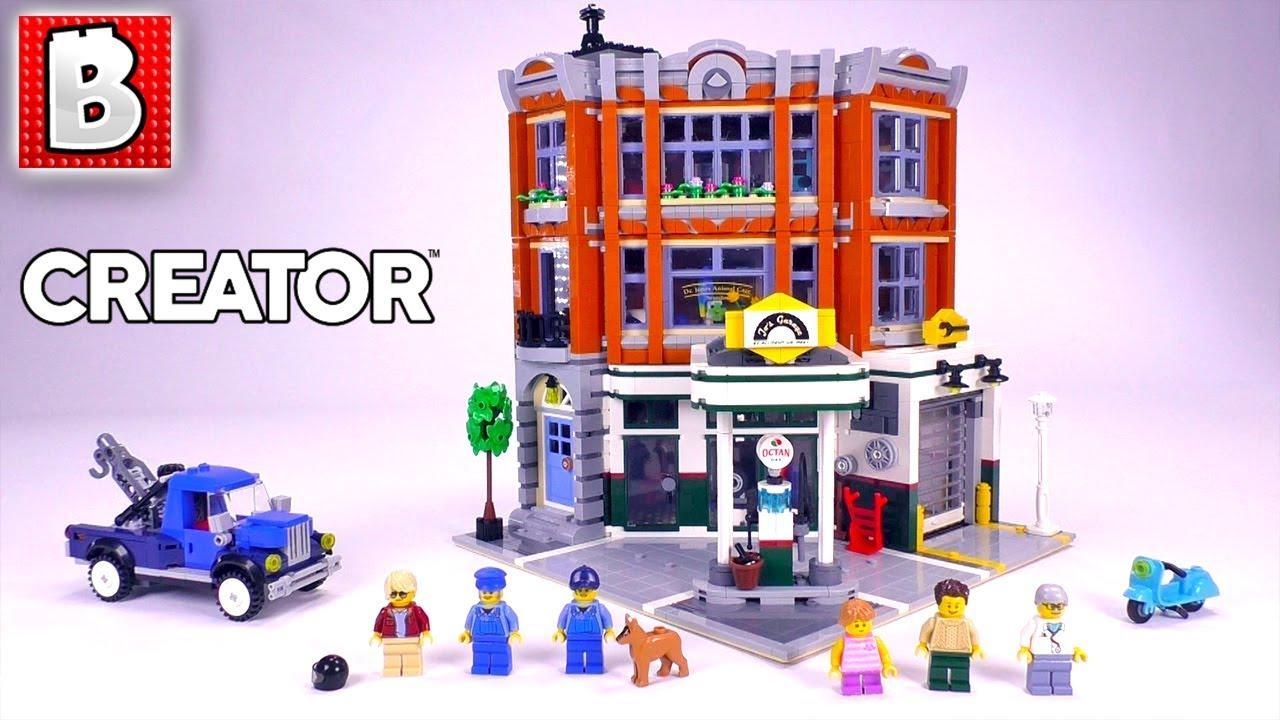 LEGO Corner Garage Review! | Creator 2019 Set 10264