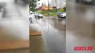 В Тынде заливает подъезд