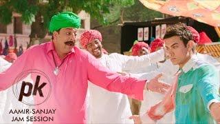 Aamir Khan & Sanjay Dutt Jam Session - PK