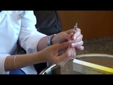 Orgalutran®: Zubereitung und Verabreichung des Medikaments.
